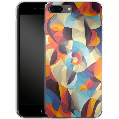 Apple iPhone 7 Plus Silikon Handyhuelle - Colour Power von Georgiana Teseleanu