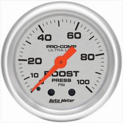 Auto Meter Ultra-Lite Mechanical Boost Gauge - 4306