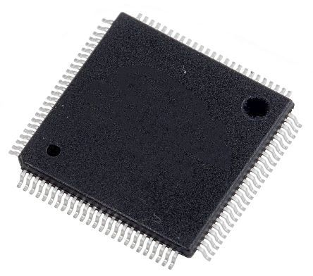 Renesas Electronics R5F56216BDFP#V0, 32bit RX CPU Microcontroller, RX621, 100MHz, 256 kB Flash, 100-Pin LQFP (90)