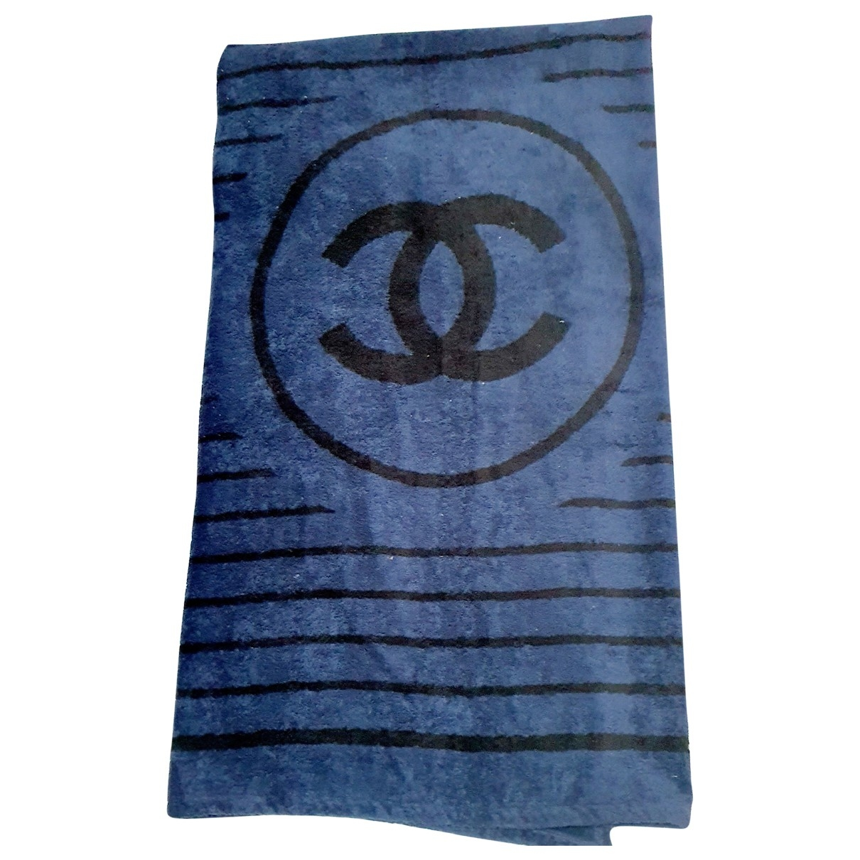 Chanel \N Navy Cotton Textiles for Life & Living \N