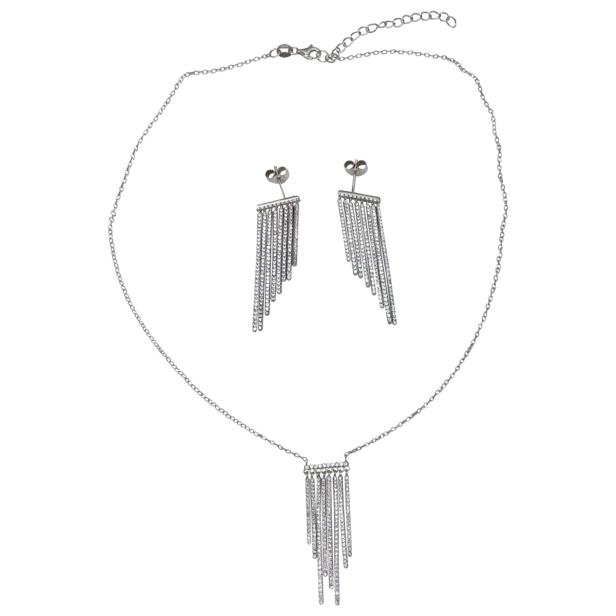 Non Signé / Unsigned \N Silver Silver Jewellery set for Women \N