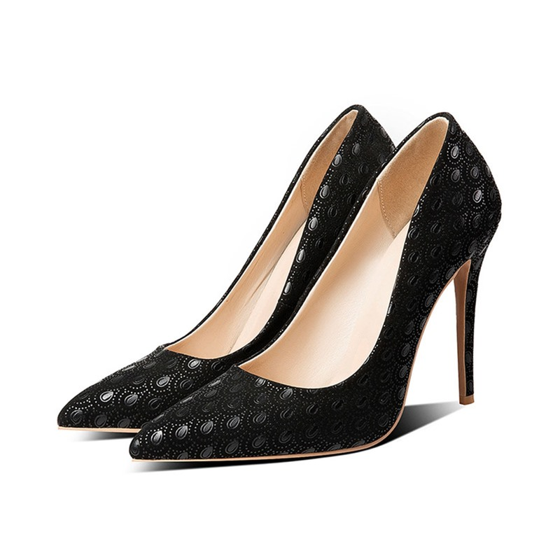 Ericdress Stiletto Heel Slip-On Pointed Toe Sexy Thin Shoes