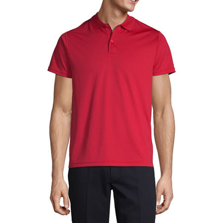 IZOD Young Mens Short Sleeve Performance Polo, X-large , Red
