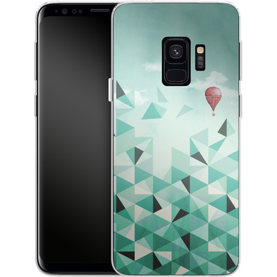 Samsung Galaxy S9 Silikon Handyhuelle - Emerald City von Little Clyde
