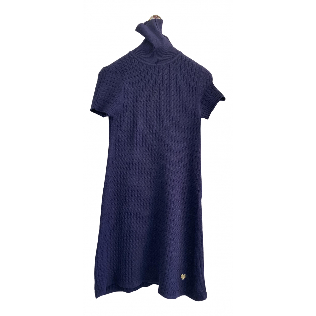 Twin Set \N Blue Wool dress for Women 40 IT
