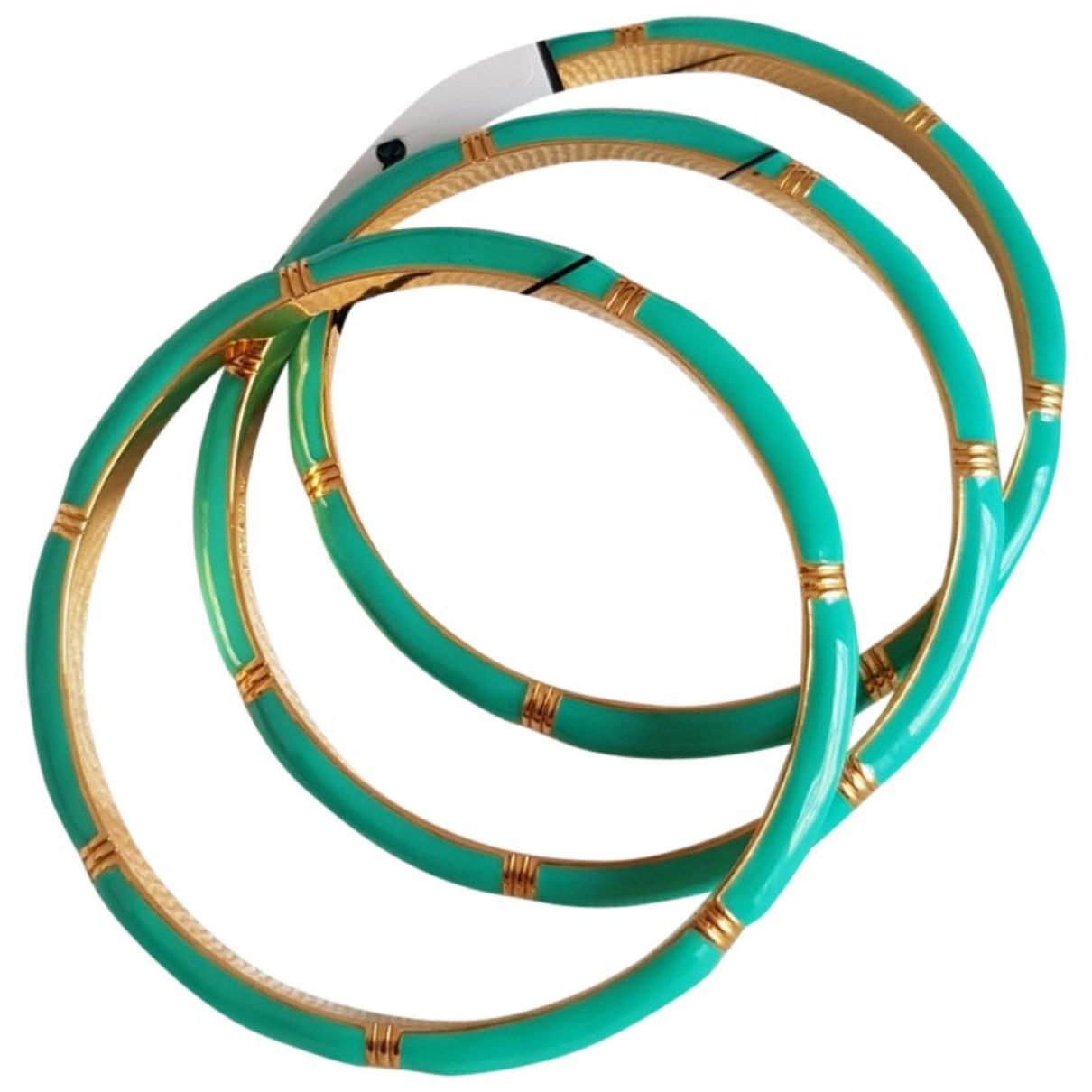 J.crew - Bracelet   pour femme en metal - turquoise