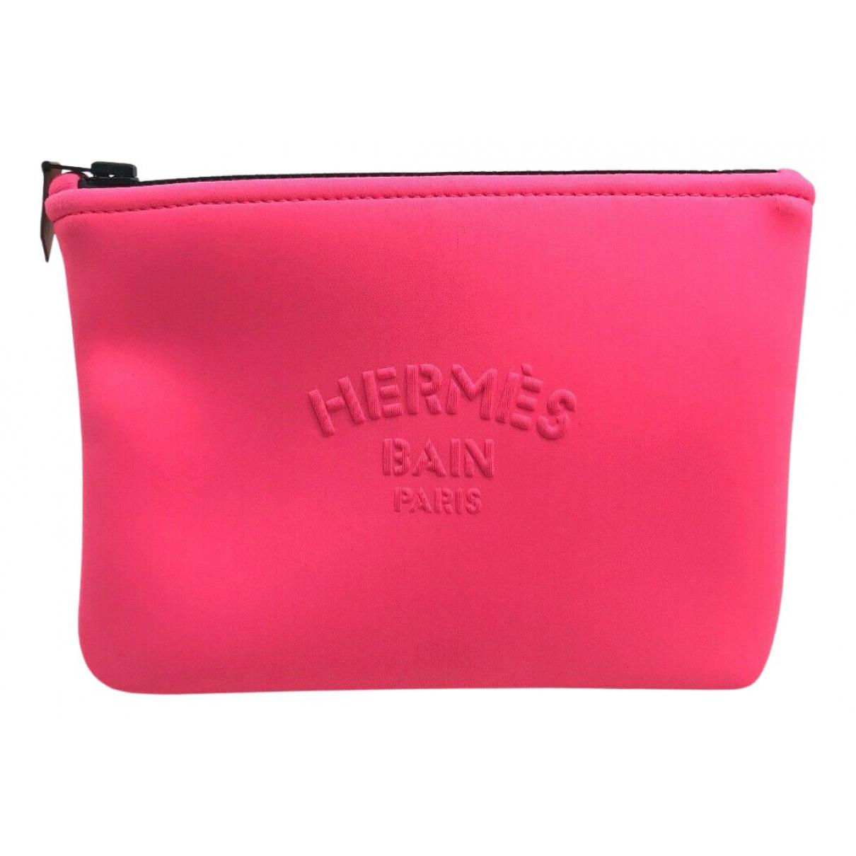 Hermès N Pink Cloth Purses, wallet & cases for Women N