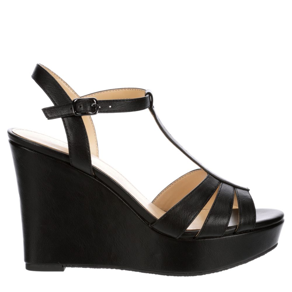 Michael By Shannon Womens Fiesta Wedge Sandal Heel Sandals