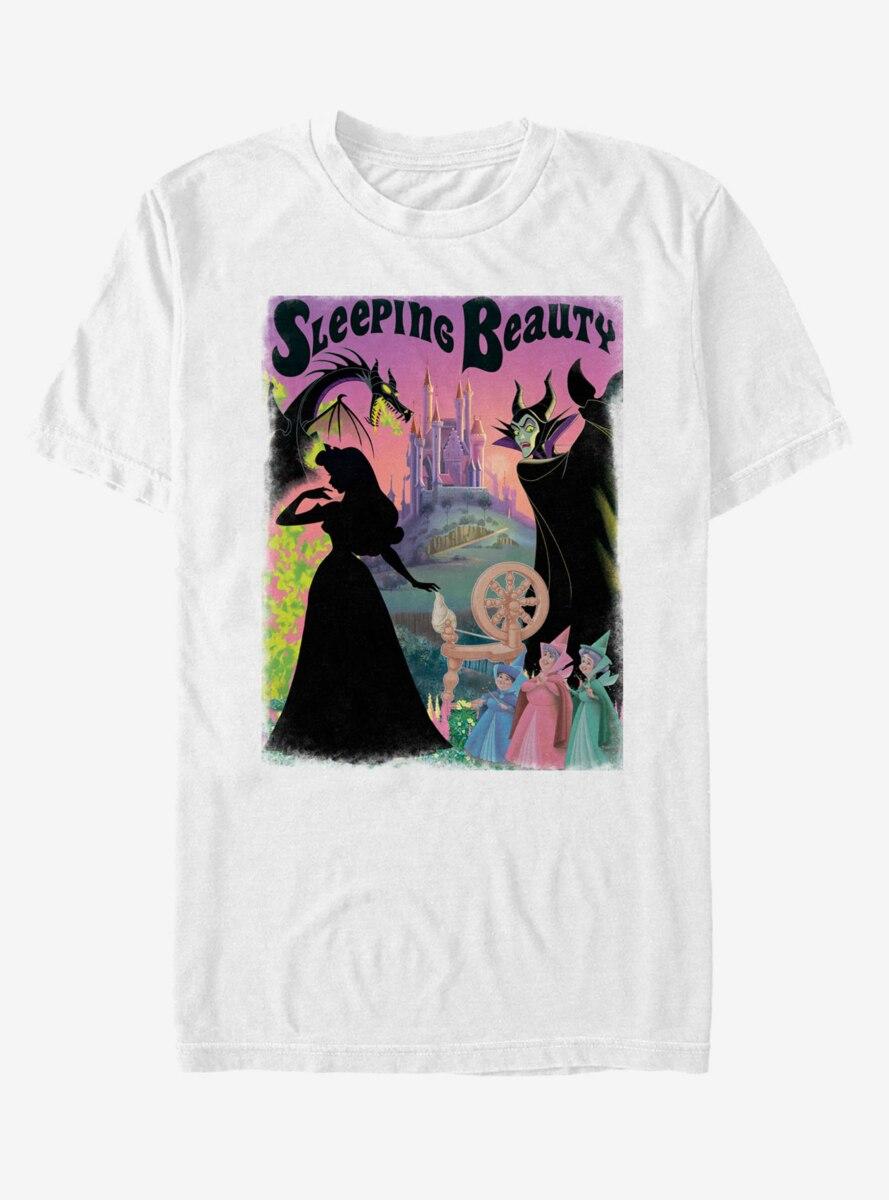 Disney Sleeping Beauty Poster T-Shirt