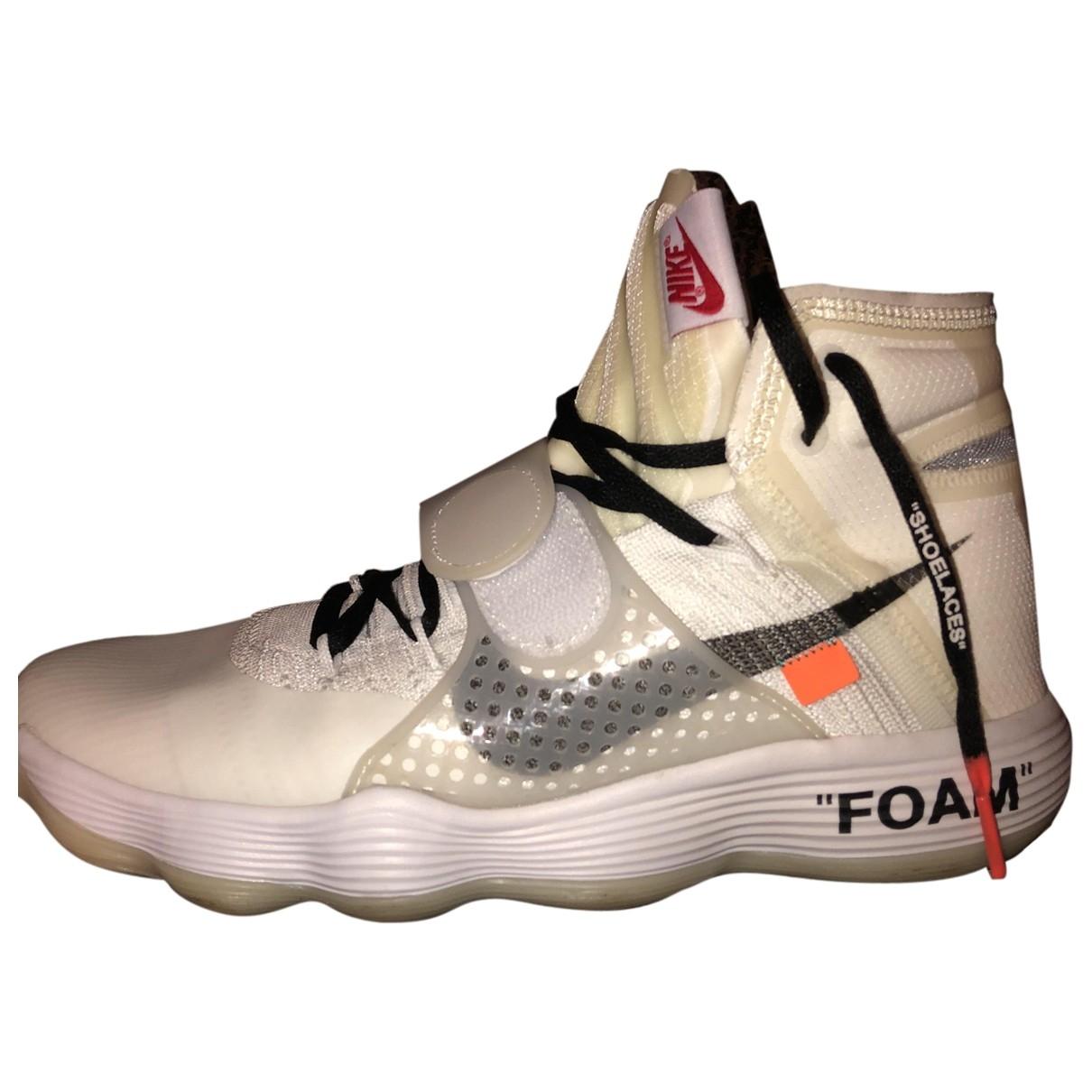 Deportivas React Hyperdunk de Lona Nike X Off-white