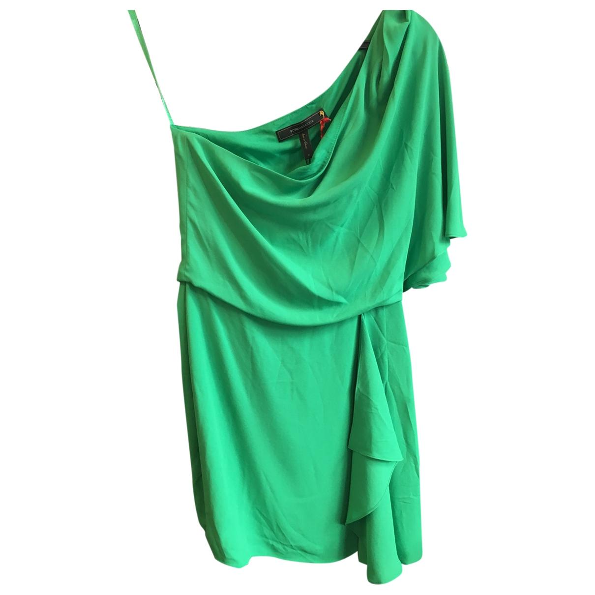Bcbg Max Azria \N Kleid in  Gruen Polyester