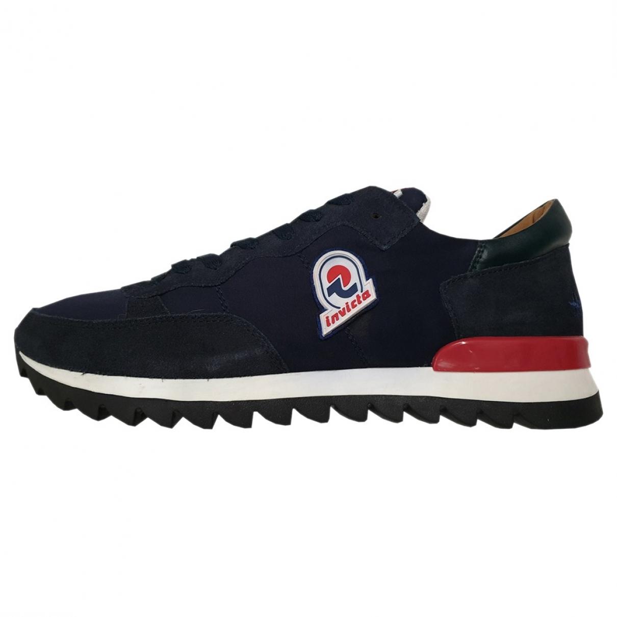 Invicta \N Sneakers in  Blau Veloursleder