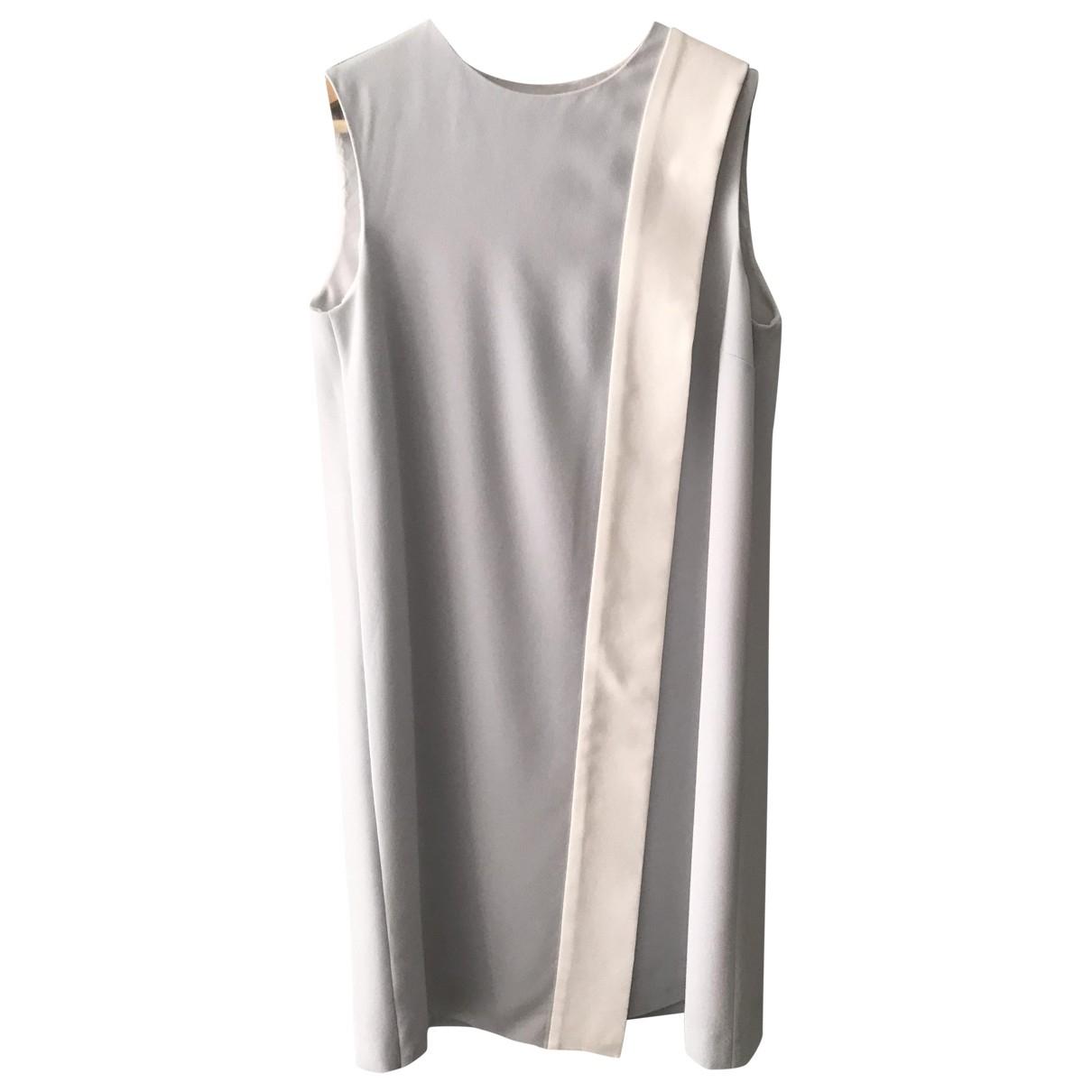 Joseph \N Kleid in  Anthrazit Polyester