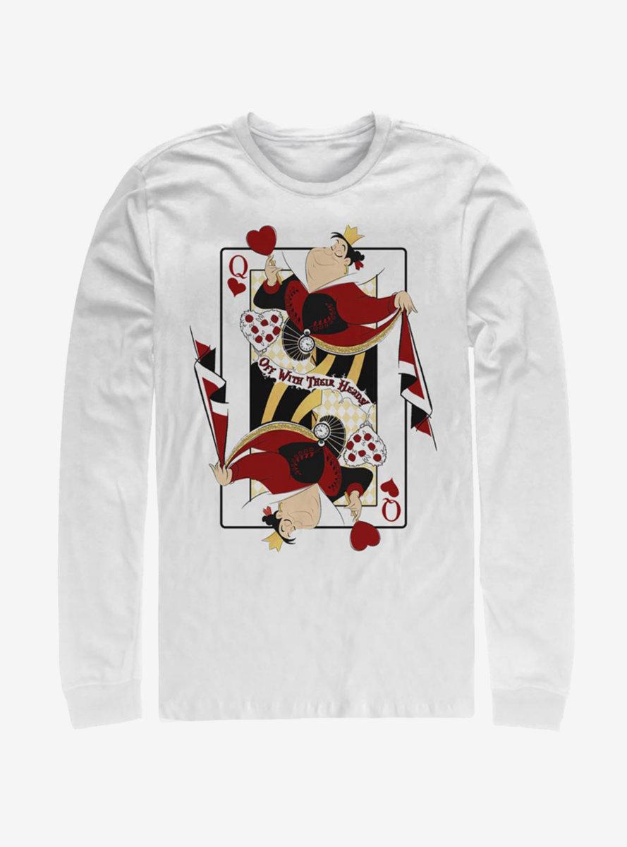Disney Alice In Wonderland Queen Of Hearts Long-Sleeve T-Shirt