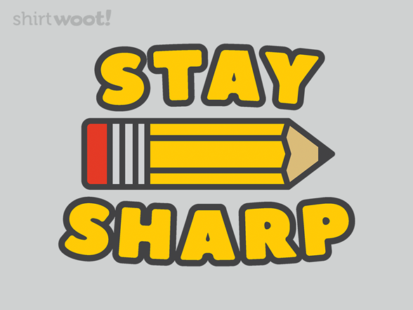 Sharp Student T Shirt