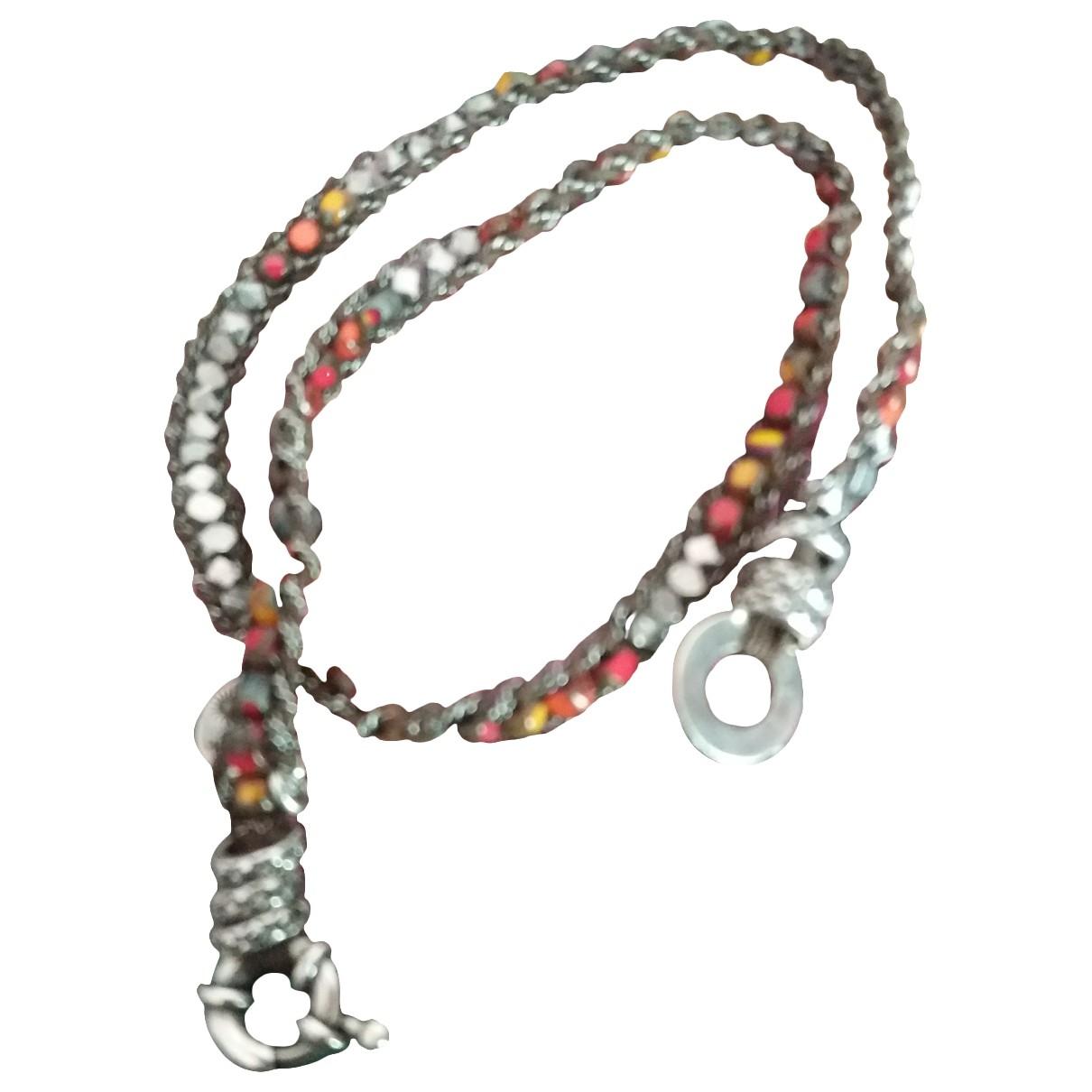 Gas - Bracelet   pour femme en argent - rose