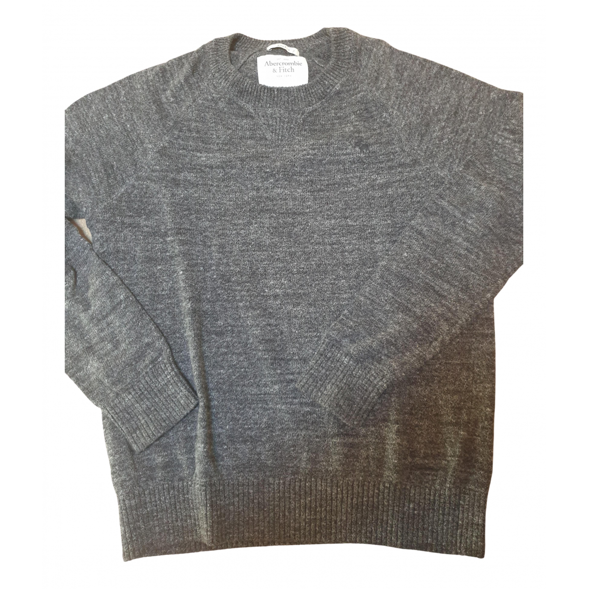 Abercrombie & Fitch \N Pullover.Westen.Sweatshirts  in  Anthrazit Wolle