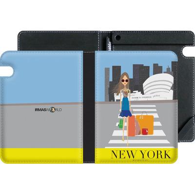 Amazon Kindle Voyage eBook Reader Huelle - NEW YORK TRAVEL POSTER von IRMA