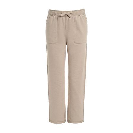 IZOD Adaptive Little & Big Boys Regular Fit Drawstring Pants, X-large (18-20) , Beige