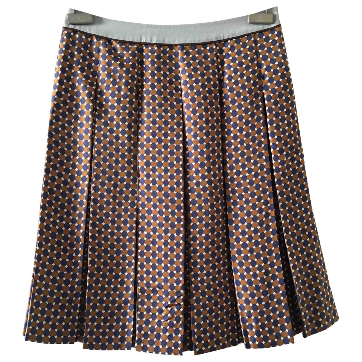 Prada \N Multicolour Silk skirt for Women 38 IT