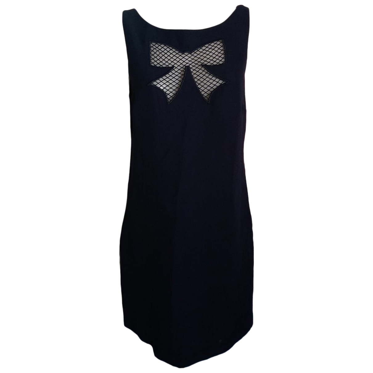 Moschino Cheap And Chic \N Blue Wool dress for Women 46 IT