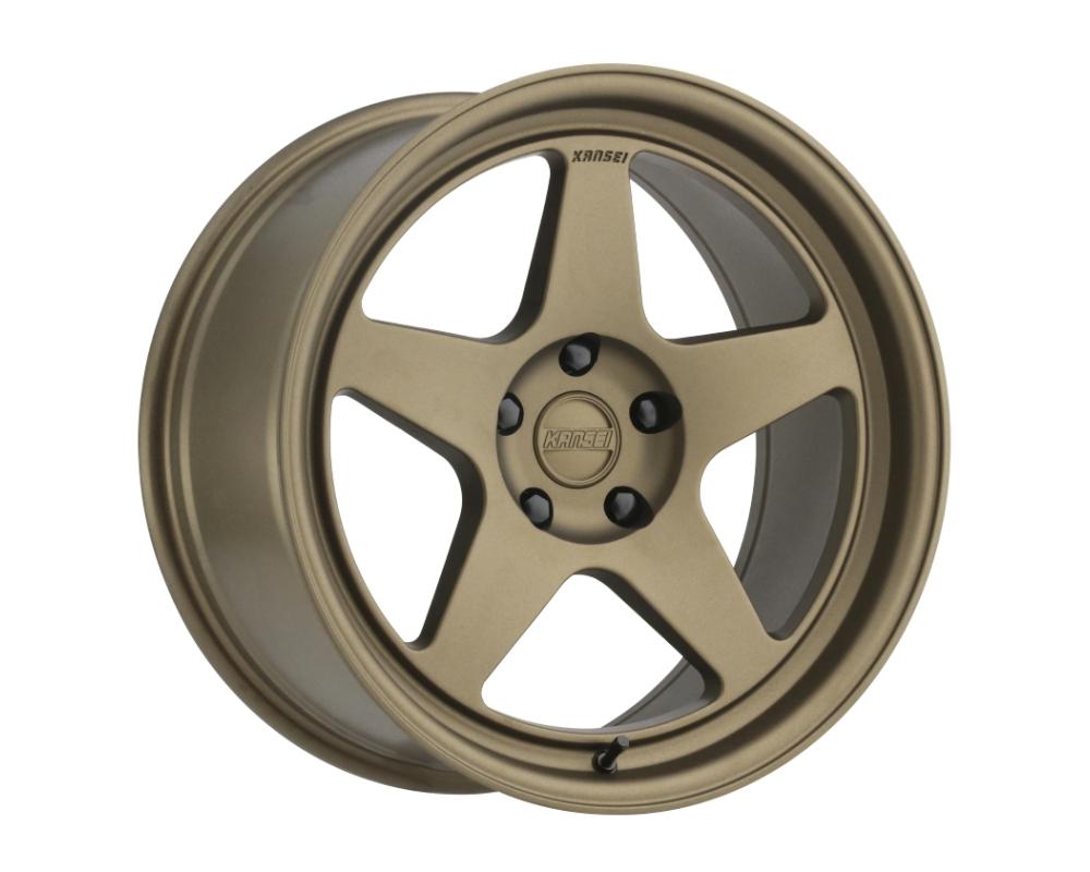 Kansei KNP Wheel 18x9 5x120 35mm Textured Bronze