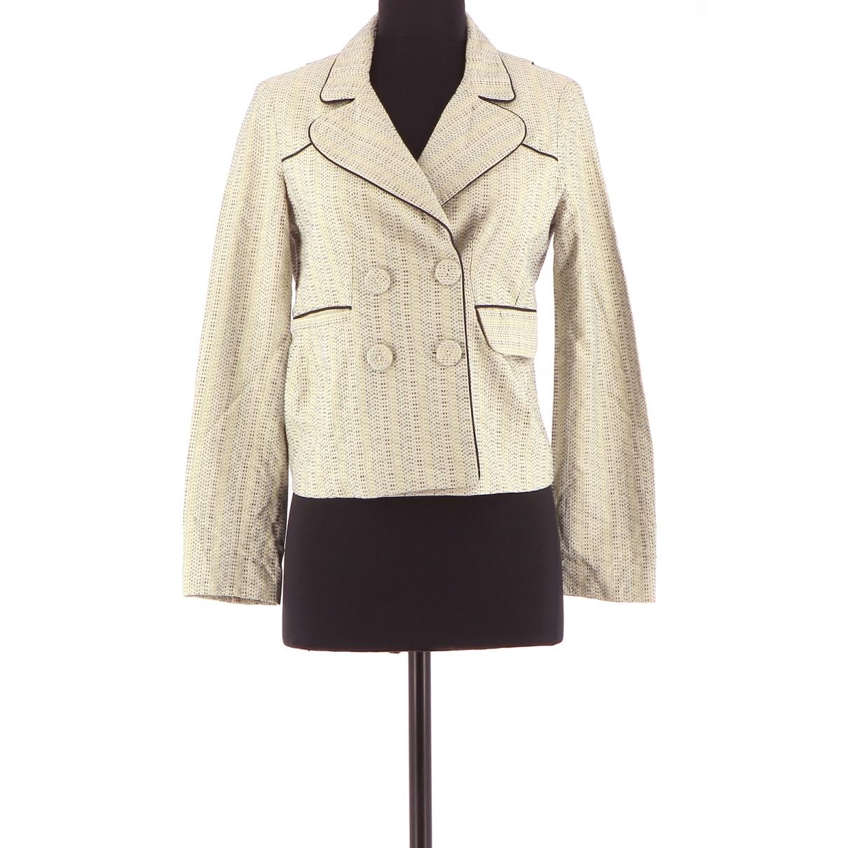Maje - Veste   pour femme en coton - beige