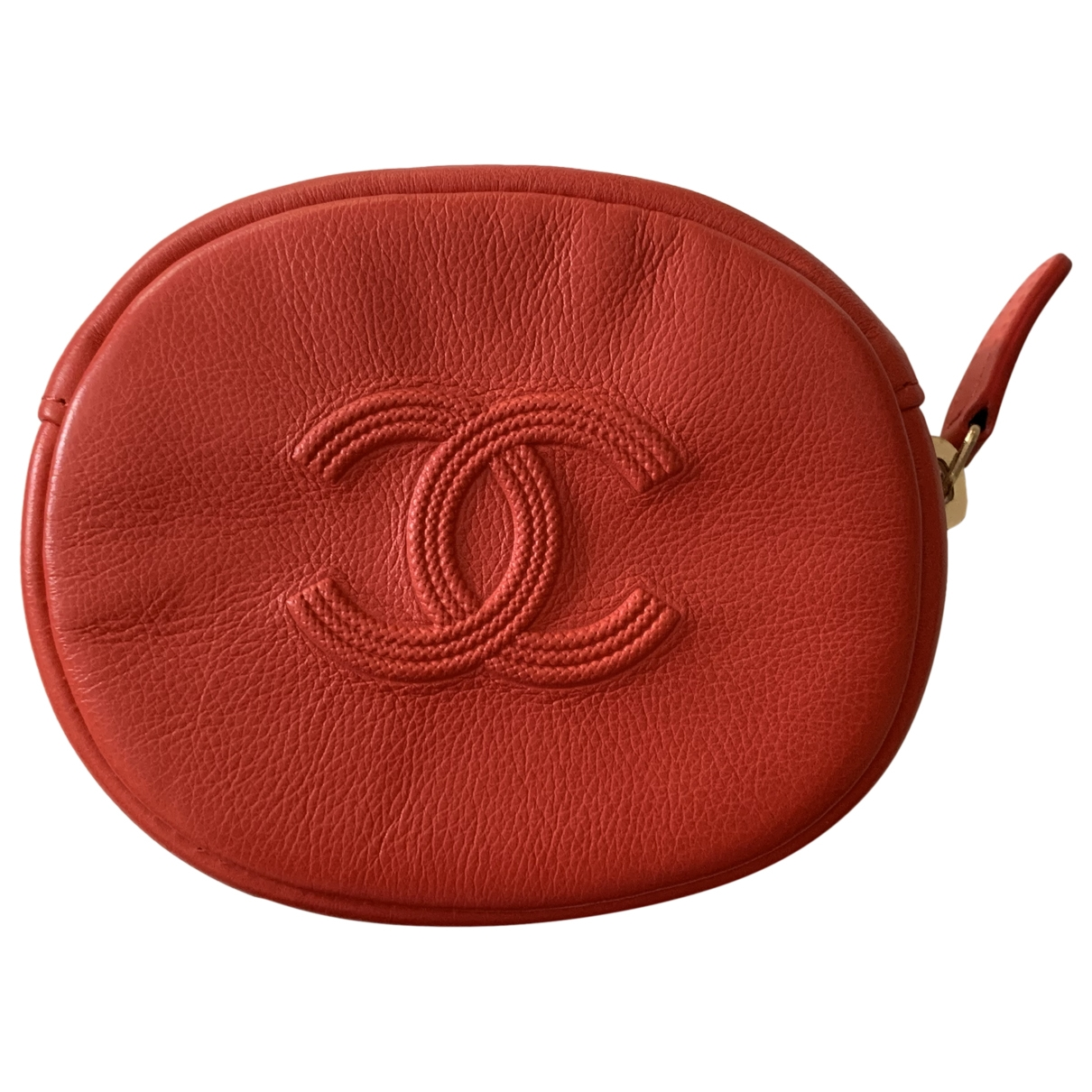 Chanel \N Red Leather Purses, wallet & cases for Women \N