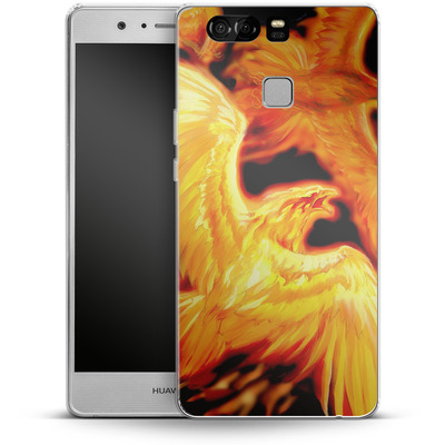 Huawei P9 Silikon Handyhuelle - Ruth Thompson - Phoenix Dawn von TATE and CO