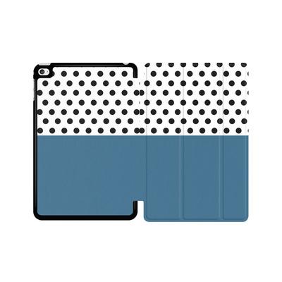 Apple iPad mini 4 Tablet Smart Case - Blue Dots von caseable Designs