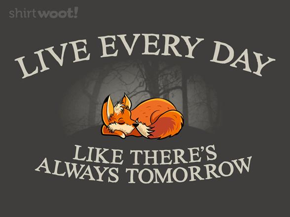 Livin' That Fox Life T Shirt