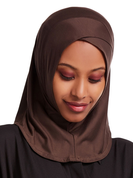 Milanoo Muslim Hijab Caps Inner Headscarf Cotton Underscarf Head Cover Cap