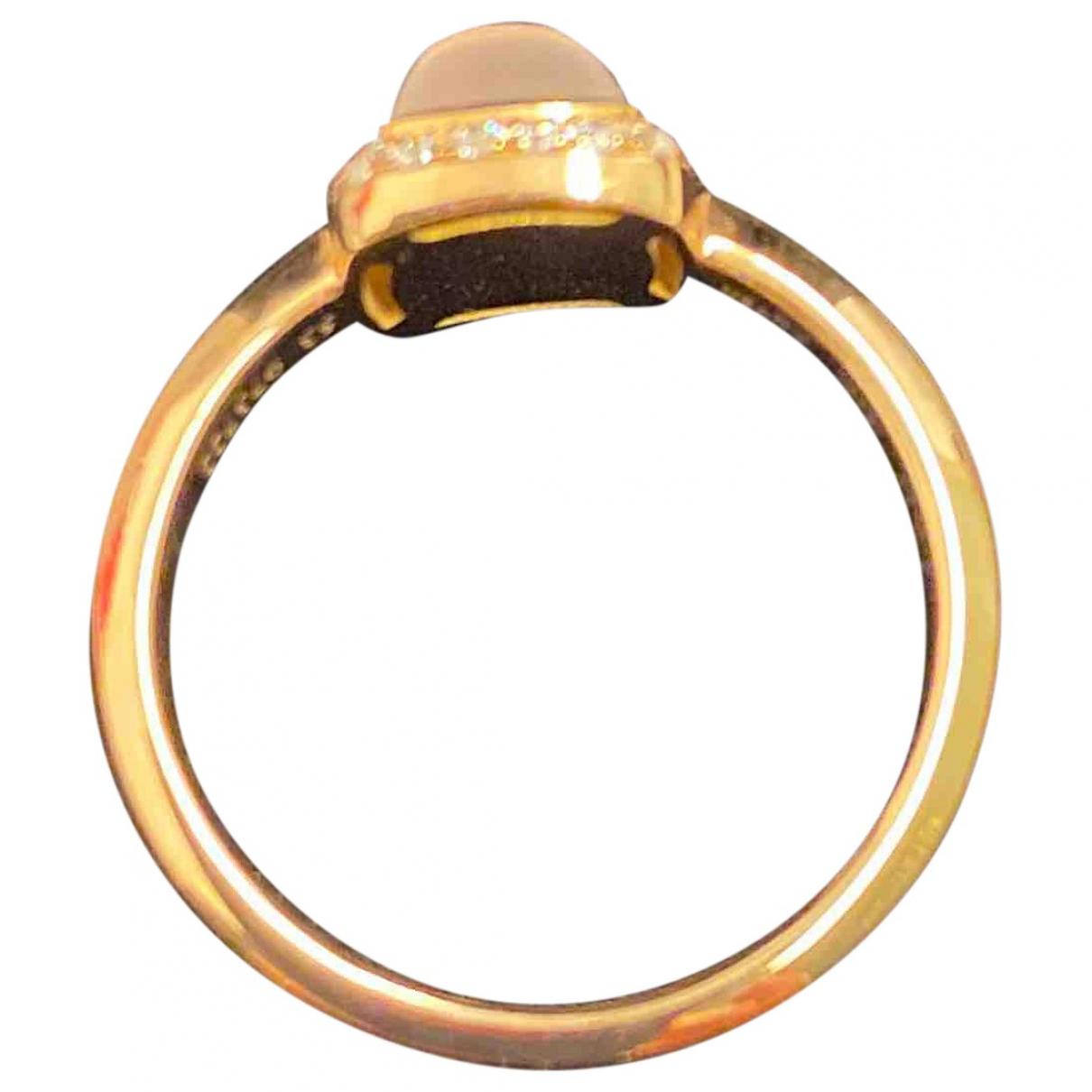 Fred - Bague Pain de Sucre pour femme en or rose - rose