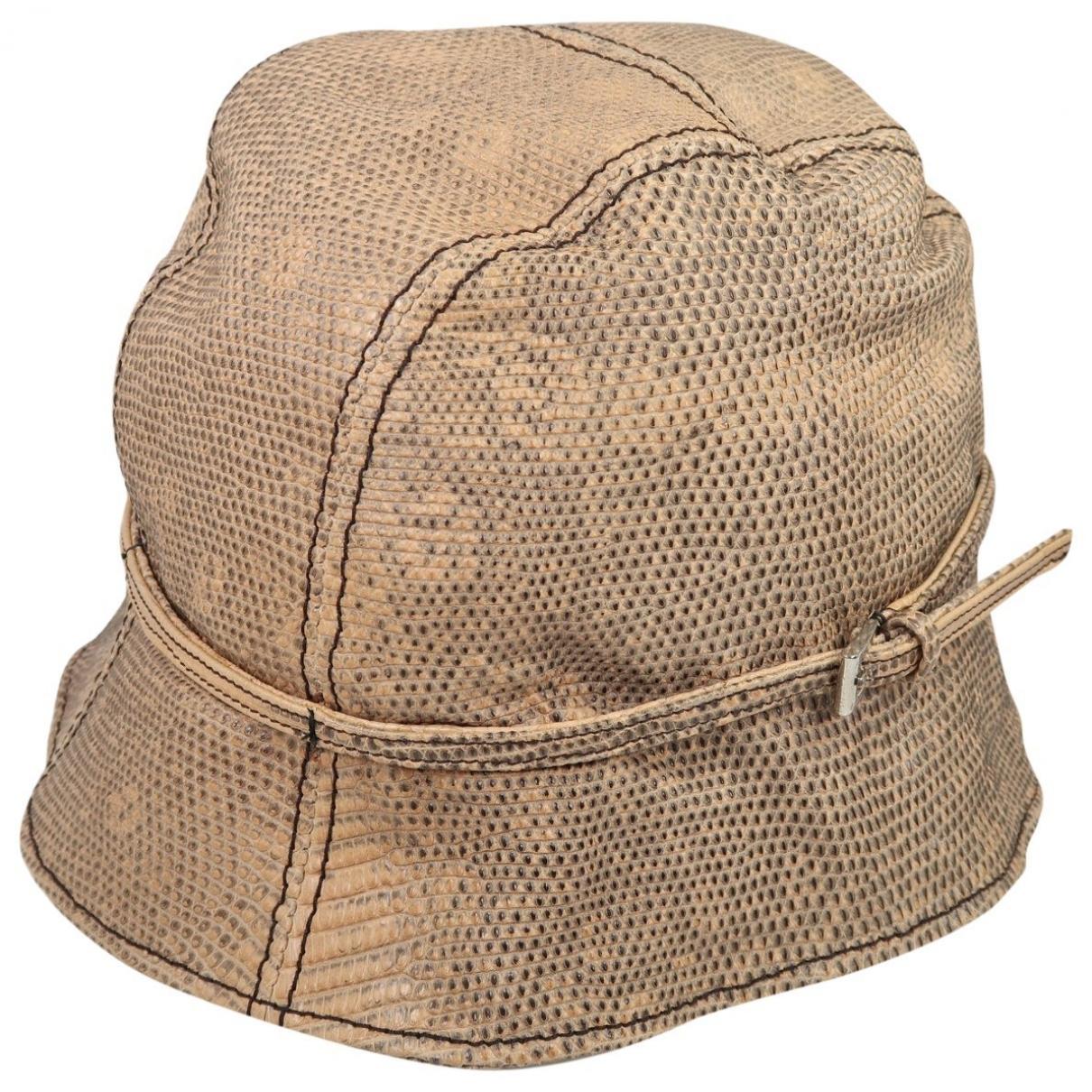 Prada \N Leather hat for Women M International