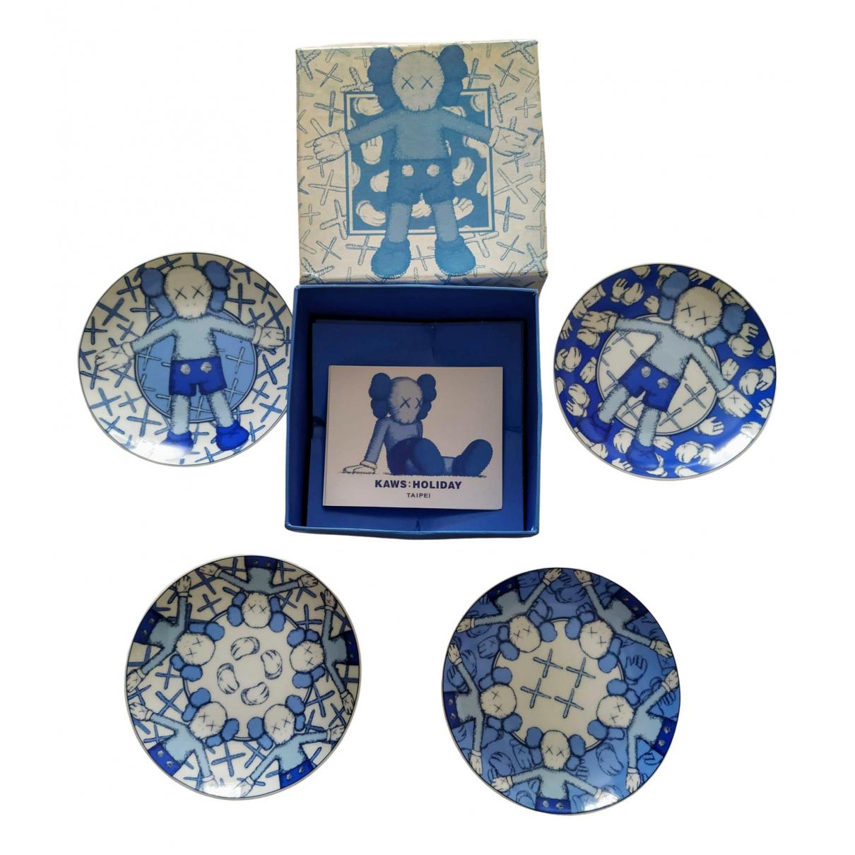 Kaws - Arts de la table   pour lifestyle en ceramique - bleu