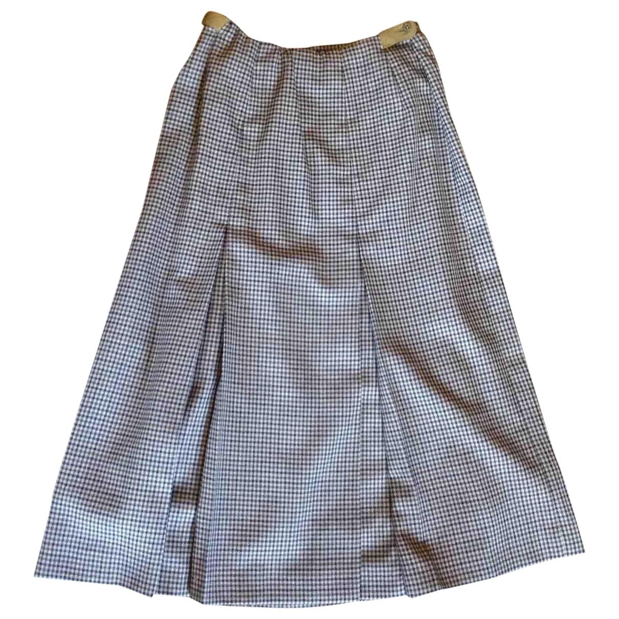 Daks \N Multicolour Wool skirt for Women 10 UK