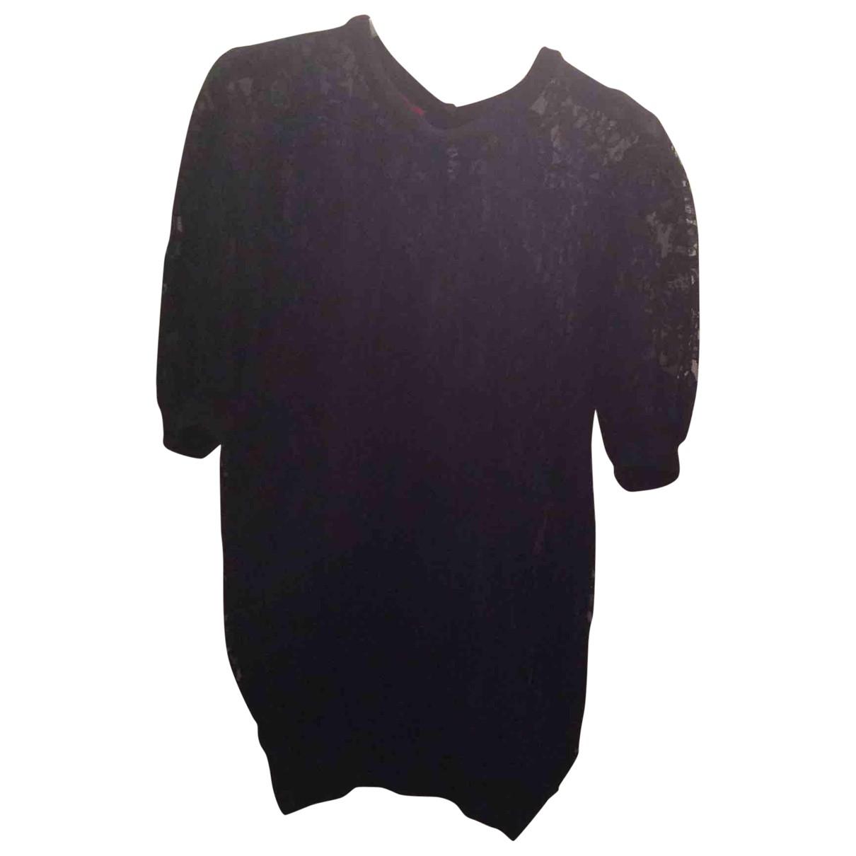 Valentino Garavani \N Black Cotton Knitwear for Women 8 UK
