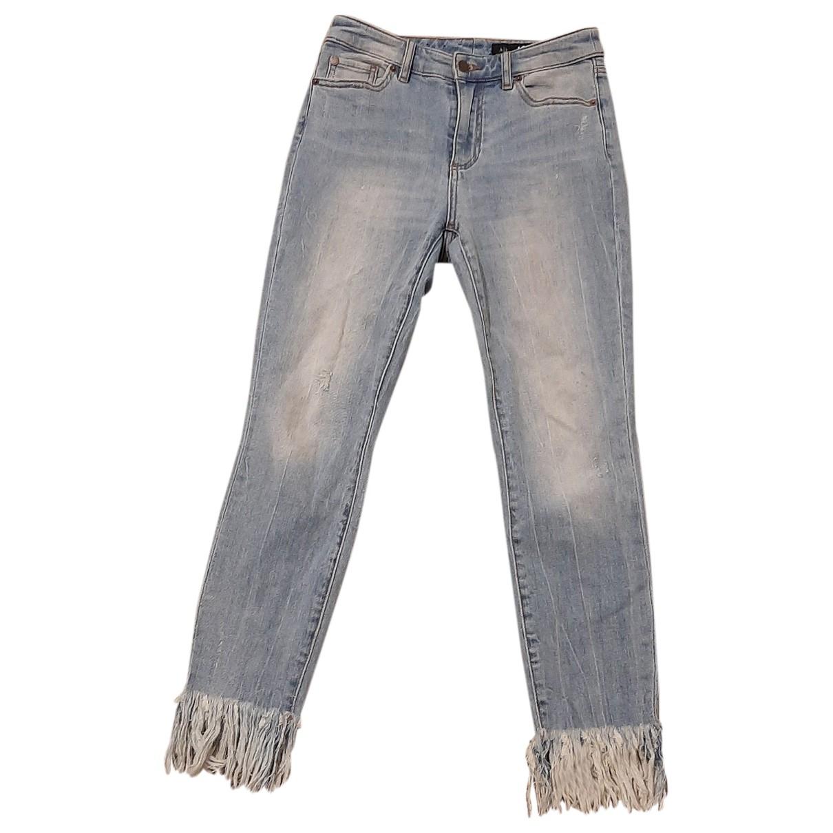 Emporio Armani \N Blue Denim - Jeans Jeans for Women 26 US