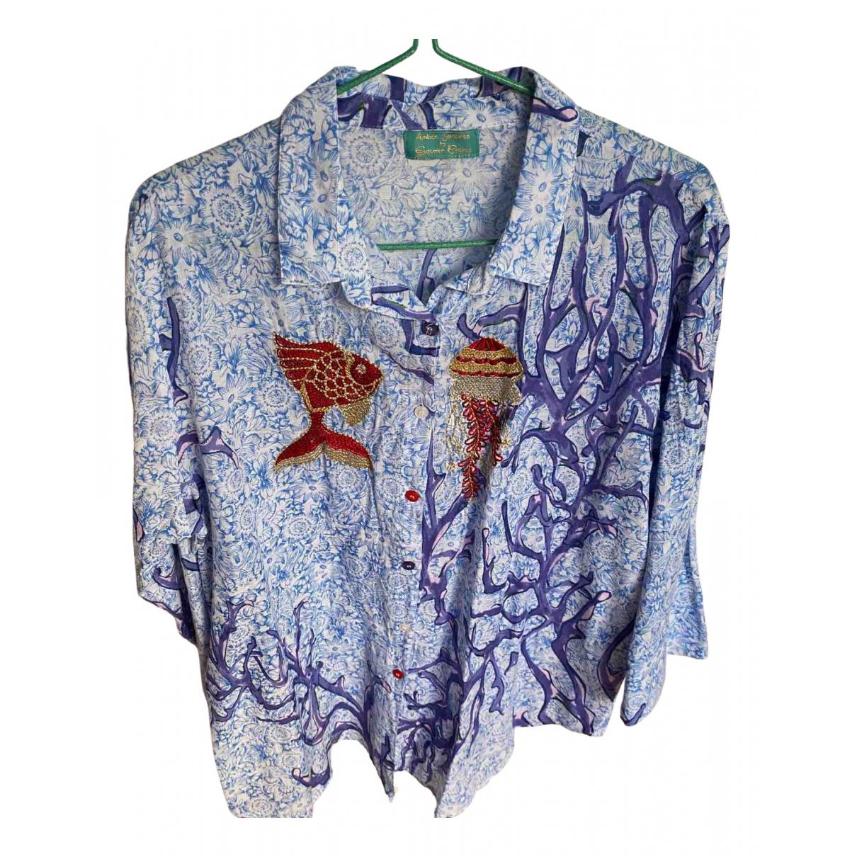 Non Signé / Unsigned \N Purple Cotton dress for Women M International