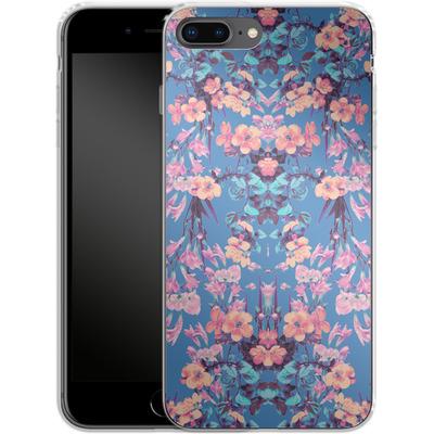 Apple iPhone 8 Plus Silikon Handyhuelle - Ornamental Love von Zala Farah