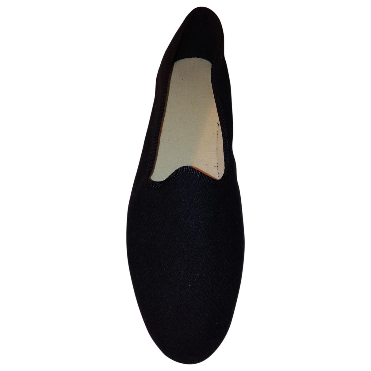 Non Signé / Unsigned \N Blue Cloth Ballet flats for Women 38 EU