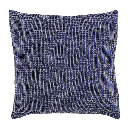 Signature Design by Ashley Dunford Square Throw Pillow, One Size , Blue