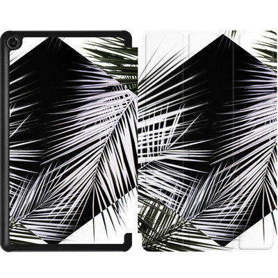Amazon Fire 7 (2017) Tablet Smart Case - Palm Leaves 3 Geometry 2 von Mareike Bohmer