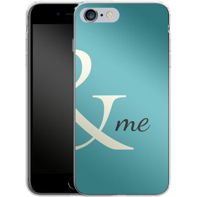 Apple iPhone 6 Plus Silikon Handyhuelle - And Me von caseable Designs