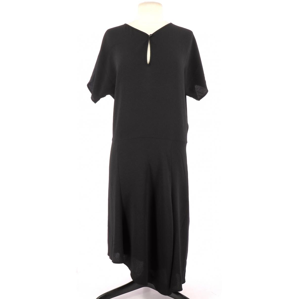 Vanessa Bruno \N Kleid in  Schwarz Polyester