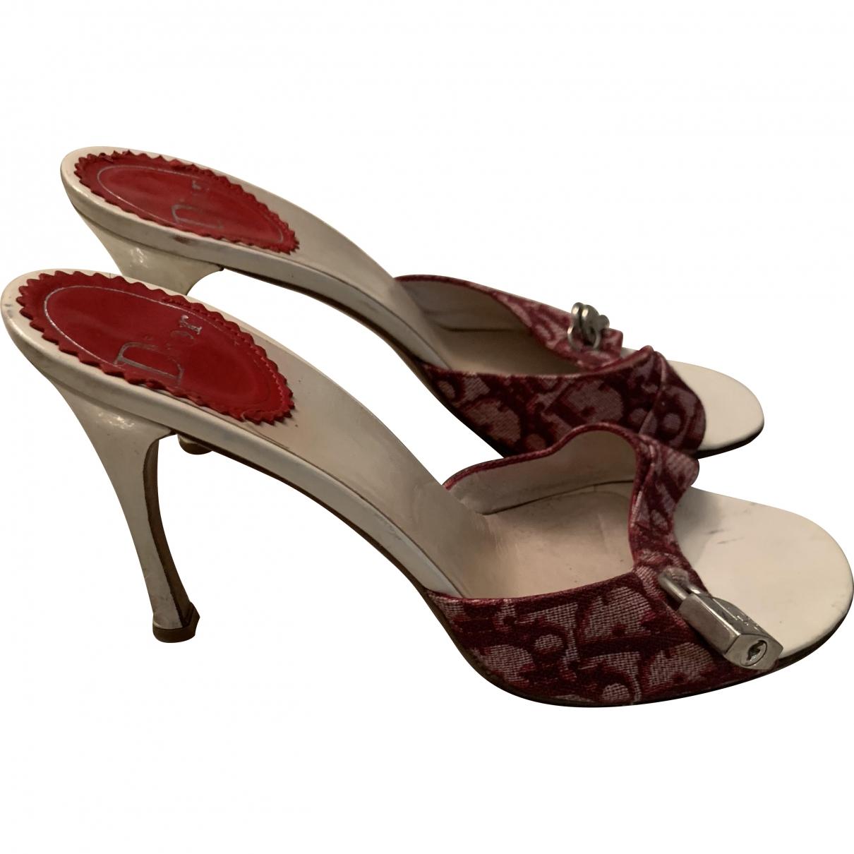 Dior \N Cloth Sandals for Women 39 EU