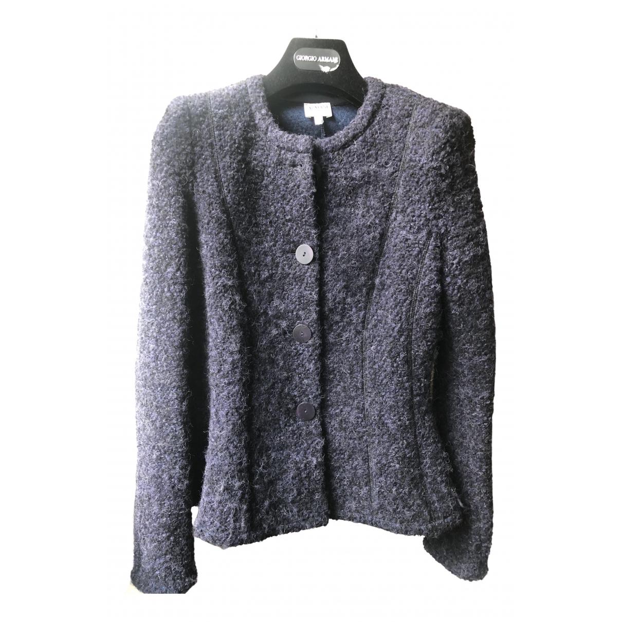 Armani Collezioni - Veste   pour femme en laine - violet