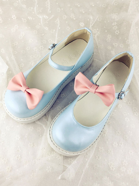 Milanoo Kawaii Lolita Shoes Detachable Ruffles Lolita Shoes