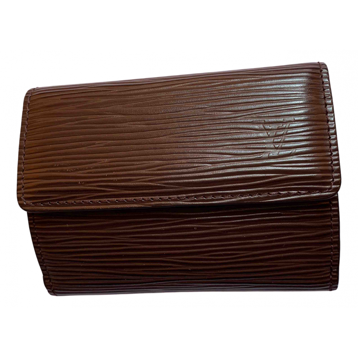 Louis Vuitton N Brown Leather wallet for Women N