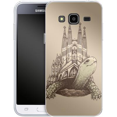 Samsung Galaxy J3 (2016) Silikon Handyhuelle - Slow Architecture von Enkel Dika